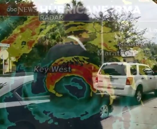 Hurricane Irma attacks Tampa Bay