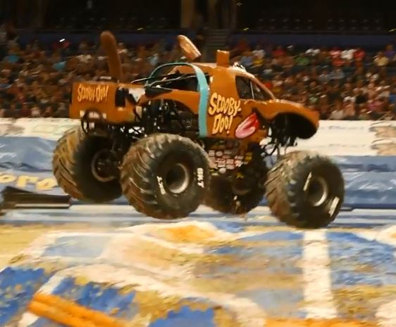 Monster Jam at Amalie Arena - Thunder Dome - Indoor monster trucks throwing it down big time
