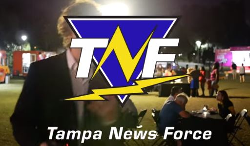 Tampa News Force at the Encore Development for a Food Truck Festival where insanity occurs