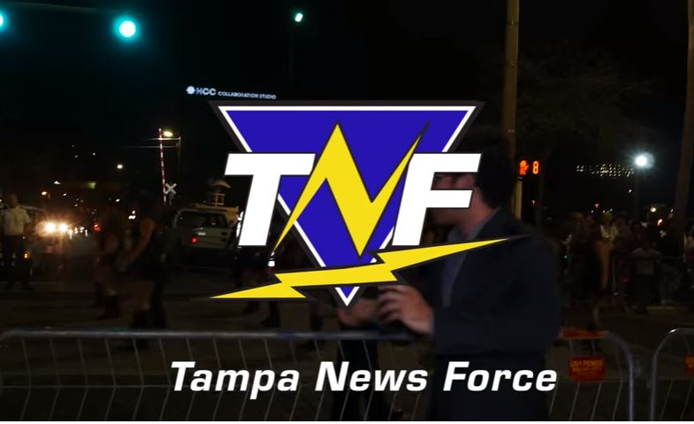 Gasparilla Knight Parade in Ybor City Covered by Tampa News Force
