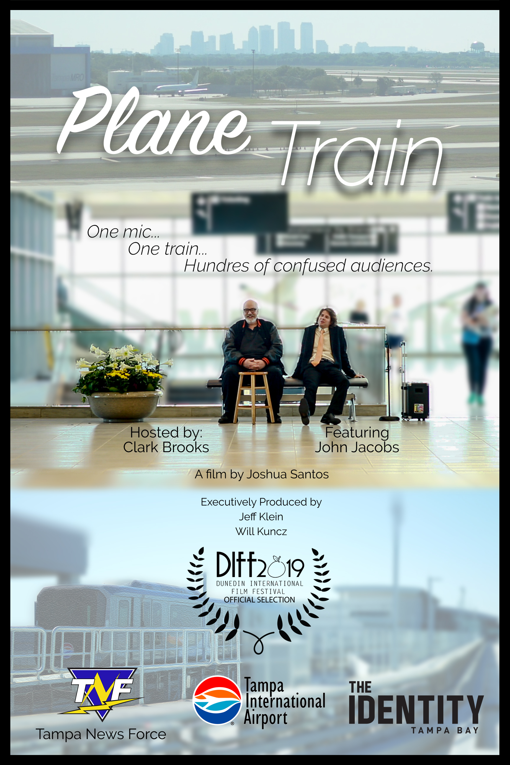 Plane Train the Movie - Poster acceptance to Dunedin Film Festival