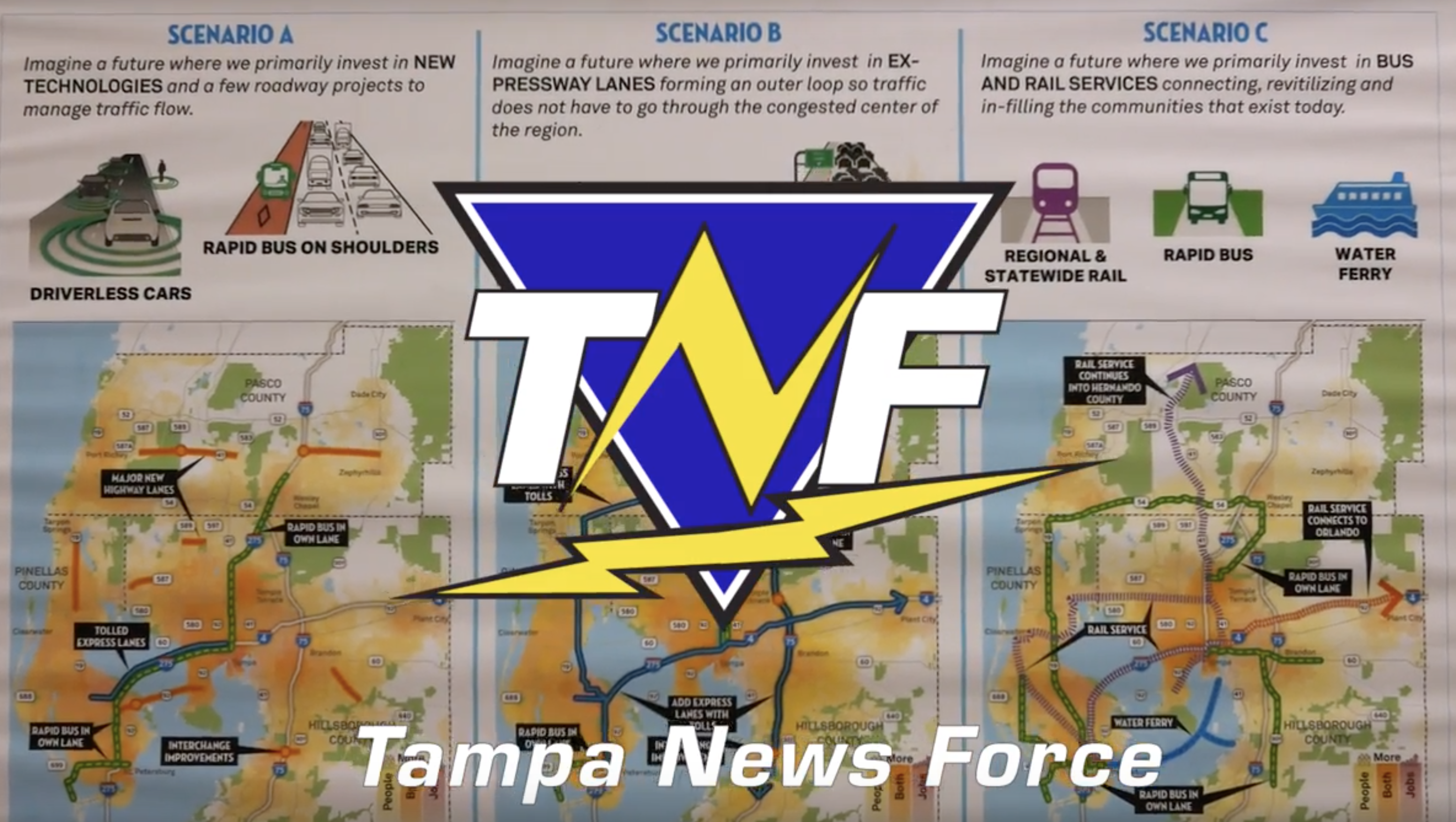 Tampa News Force - FDOT Community Breakdown