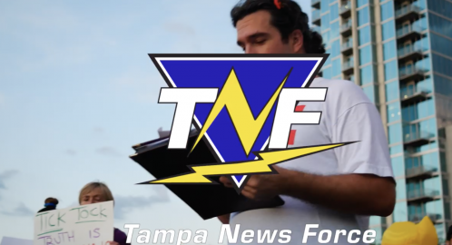 Tampa News Force - Constitutional Crisis Protest Rallly in Curtis Hixon Park in Downtown Tampa
