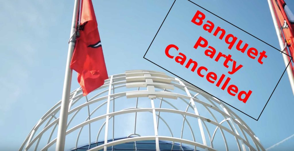 Buccaneers Banquet Party Cancelled