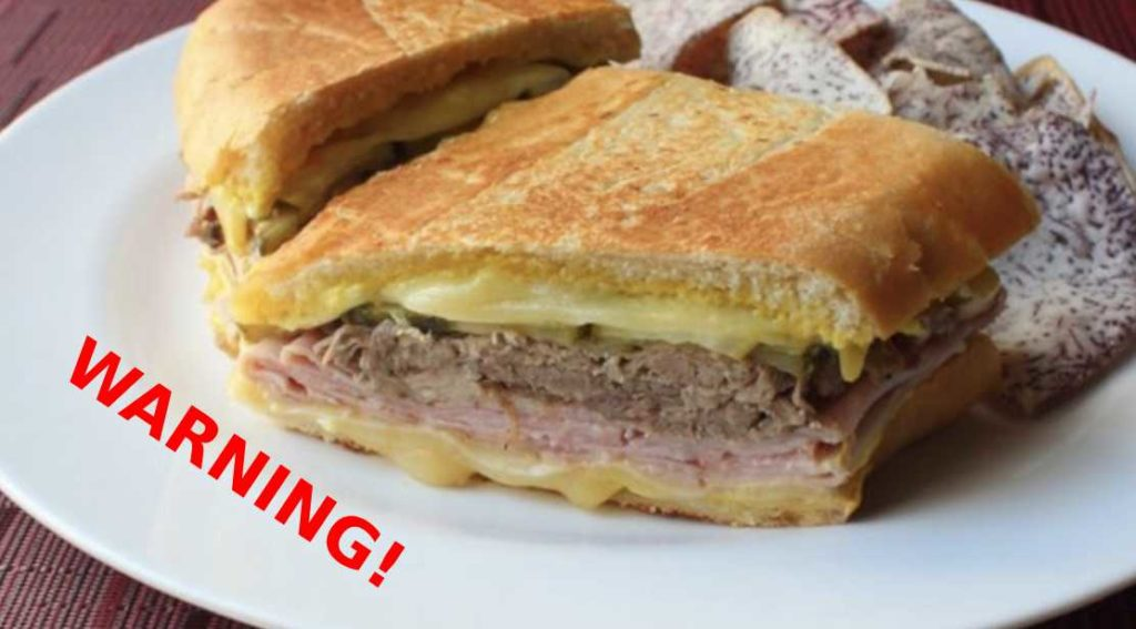 """local eatery in Ybor City has """"accidentally"""" been serving cuban sandwiches made with human meat."""