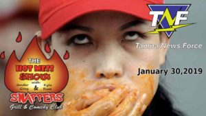 Hot Mess Show gets invaded by Tampa News Force on January 30 at Snappers bar and grill