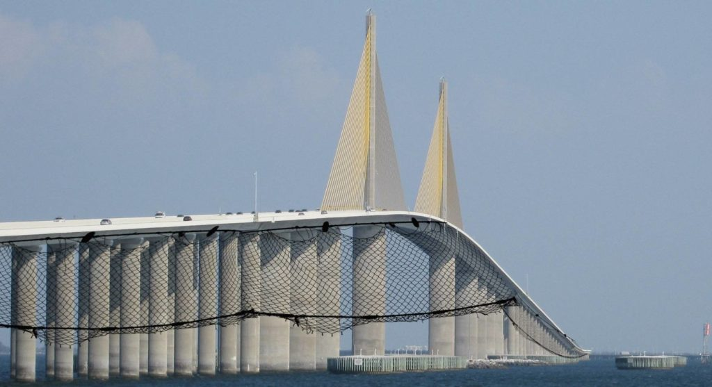 """New nets being installed along Sunshine Skyway bridge are meant to save people attempting suicide, but many fear they could also double as """"Fuck Hammocks"""""""