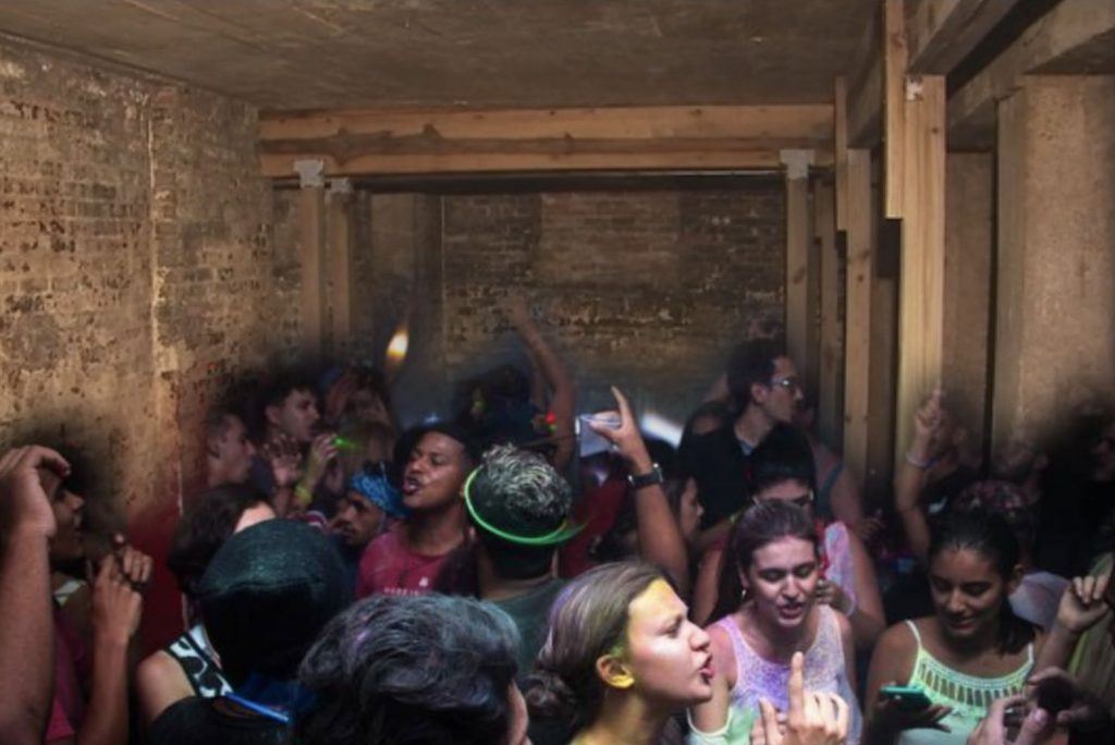Underground Teen Party