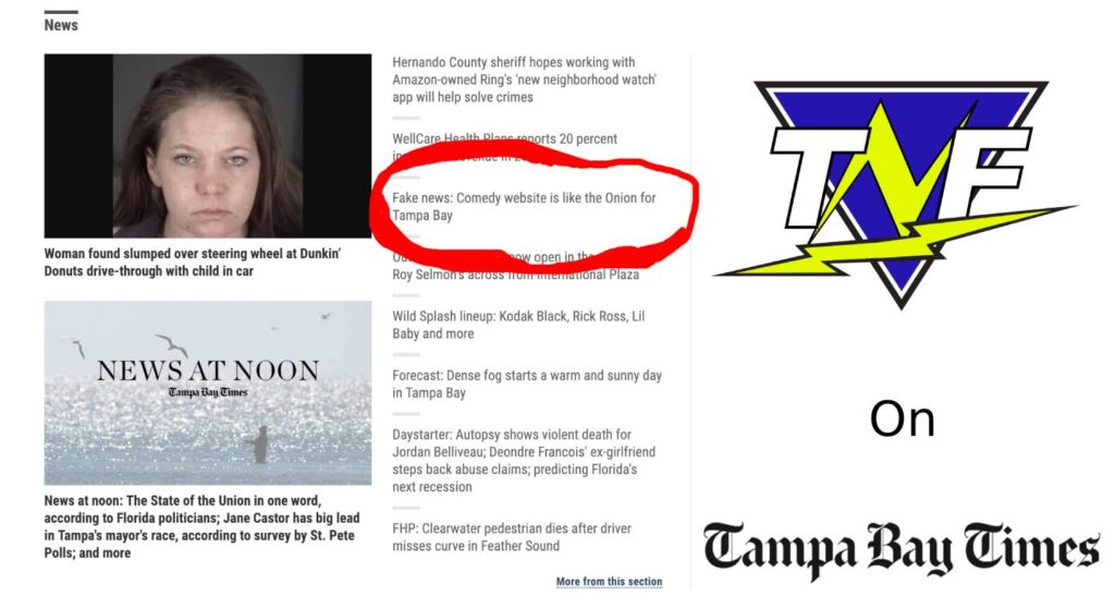 Tampa News Force Was Recently Featured on the Tampa Bay Times